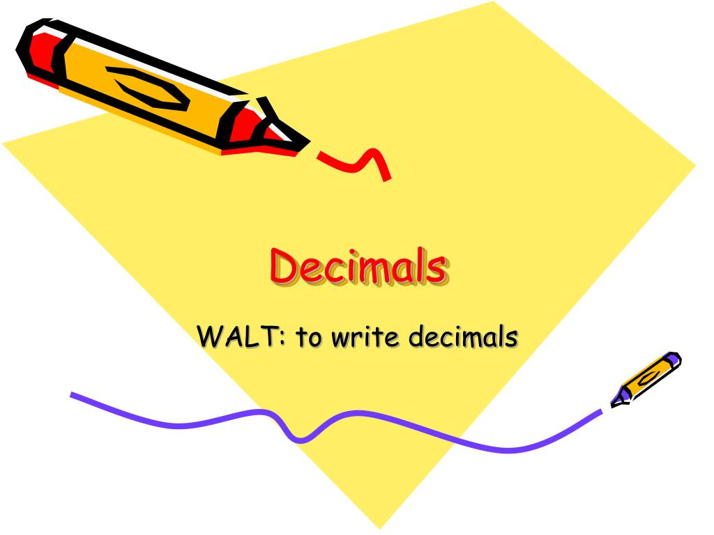 decimals l.