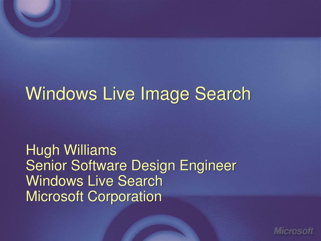 windows live image search l.