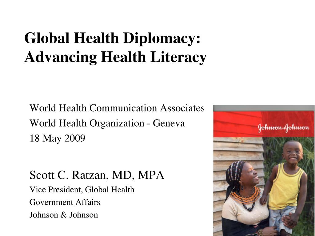 global health diplomacy advancing health literacy l.