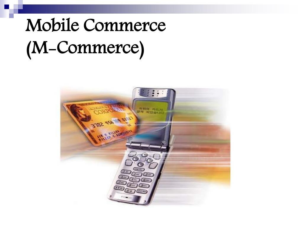 mobile commerce m commerce l.