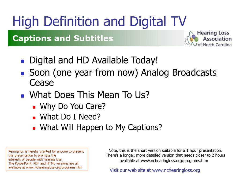 high definition and digital tv l.
