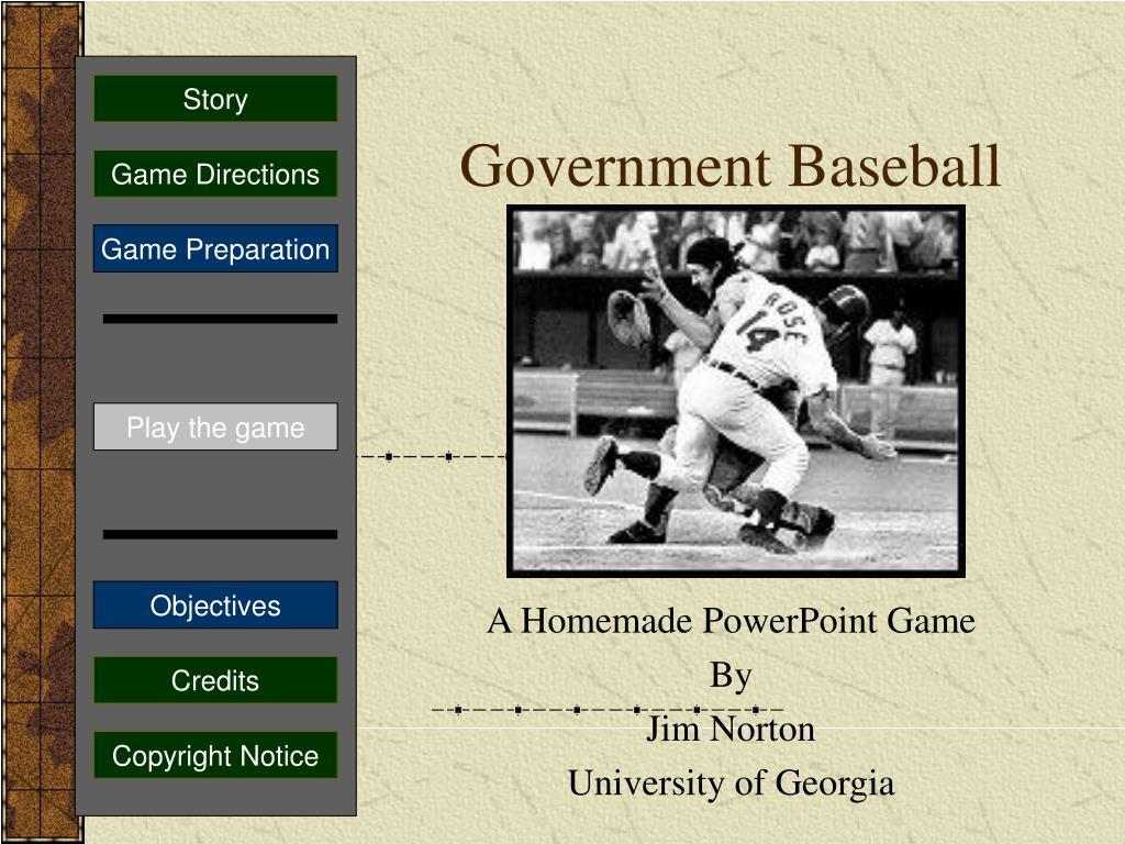government baseball l.