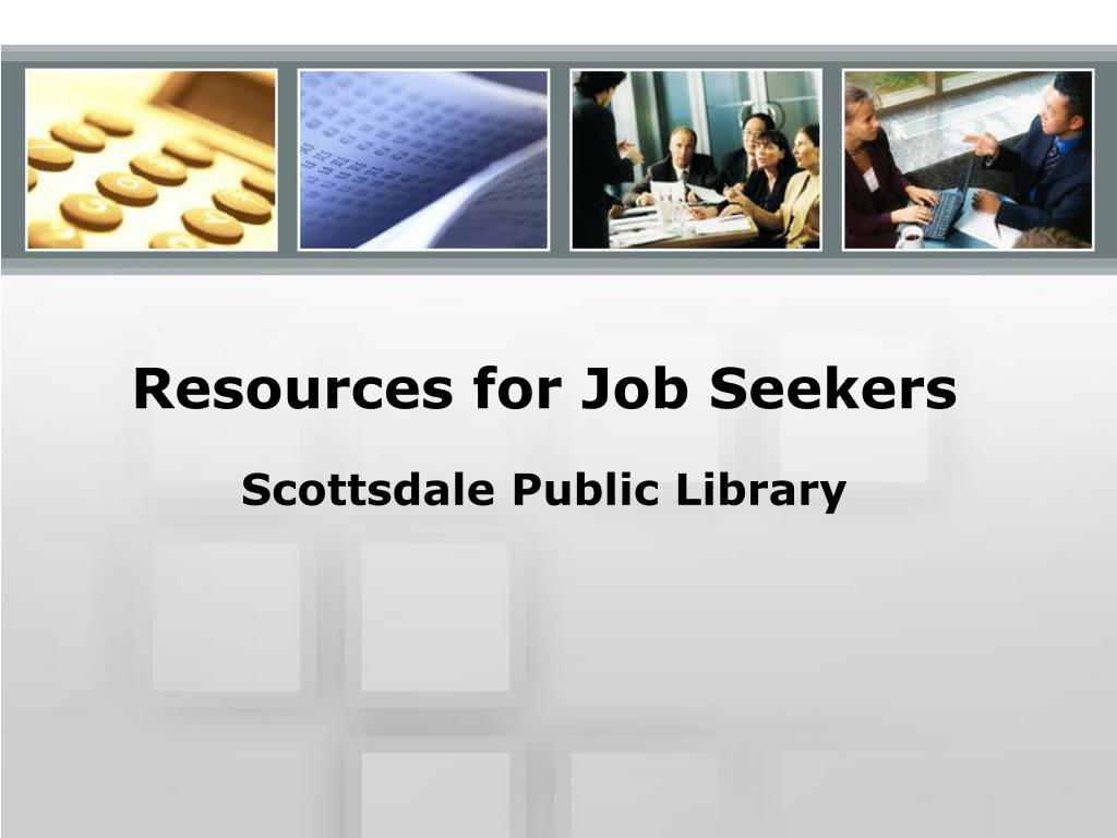 resources for job seekers l.