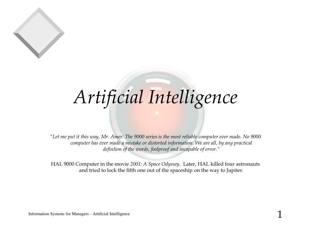 artificial intelligence l.