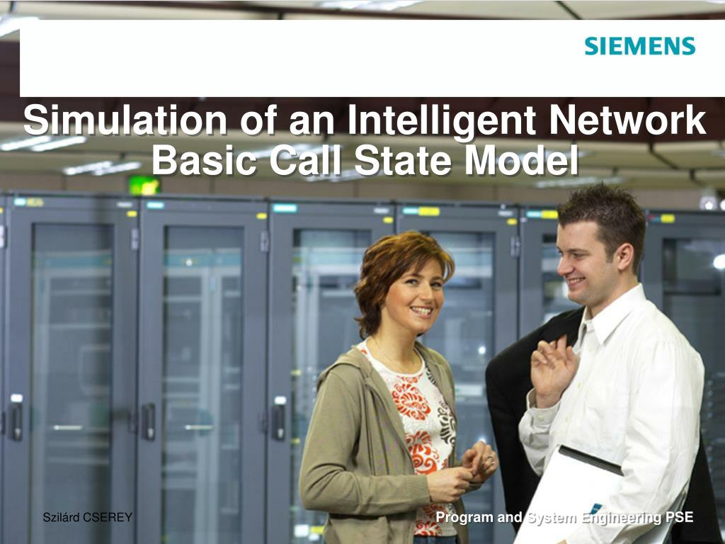 simulation of an intelligent network basic call state model l.