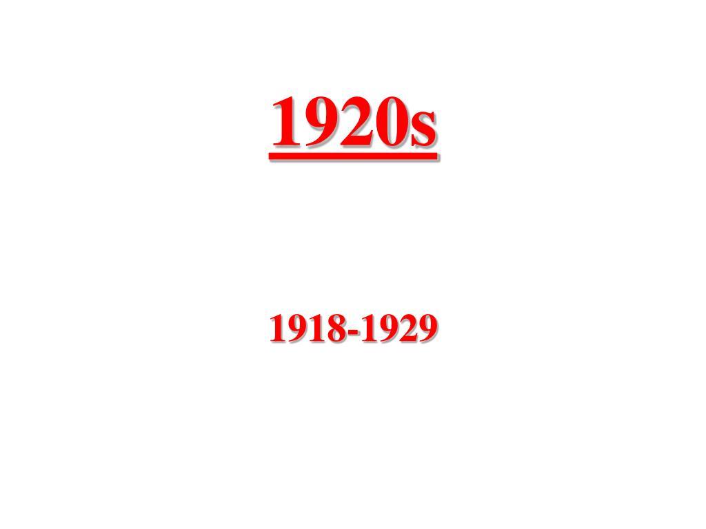 1920s l.