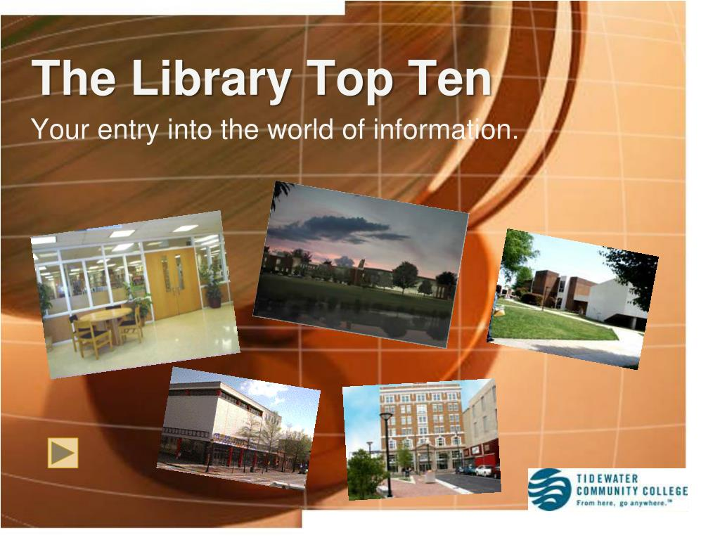 the library top ten l.