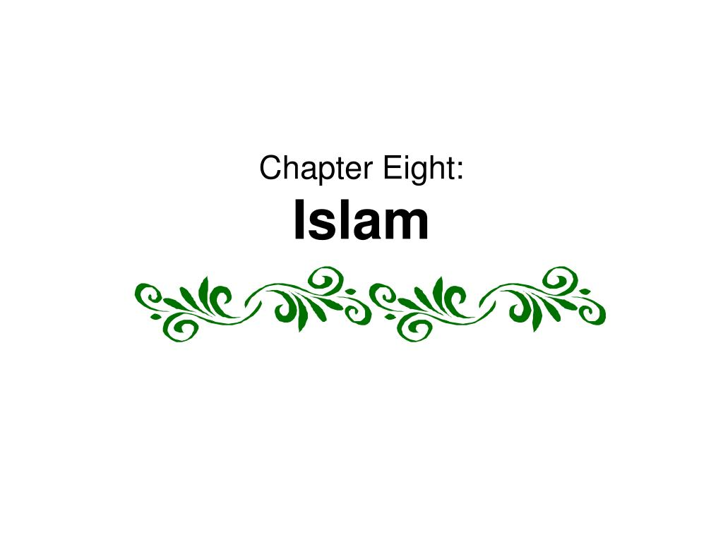chapter eight islam l.