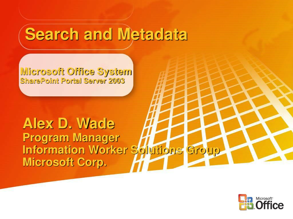 microsoft office system sharepoint portal server 2003 l.