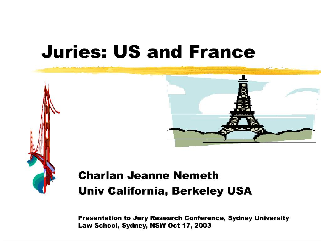juries us and france l.