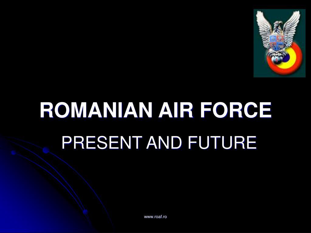 romanian air force l.