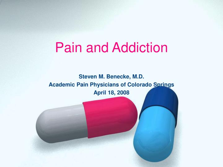 pain and addiction n.