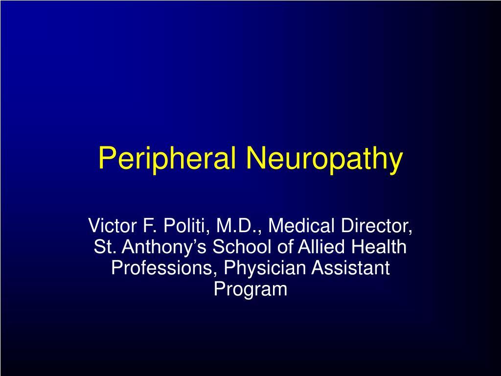 peripheral neuropathy l.