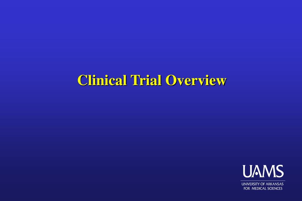 clinical trial overview l.