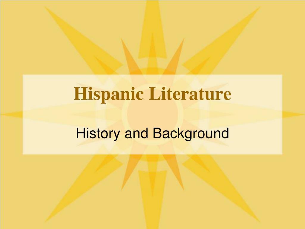 hispanic literature l.