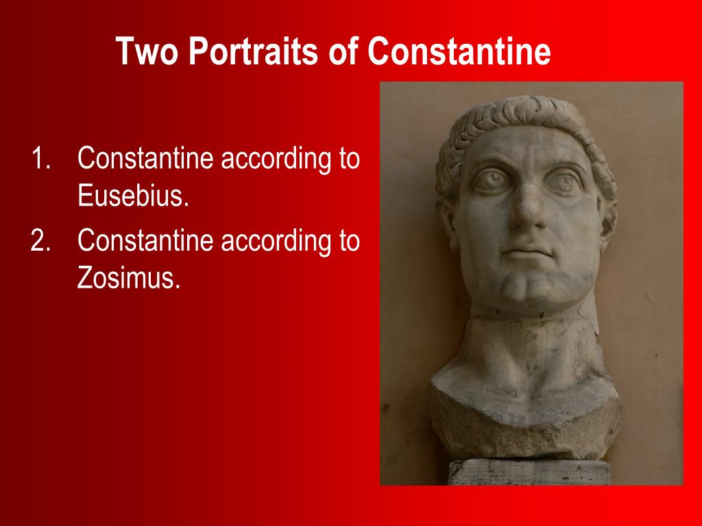 two portraits of constantine l.