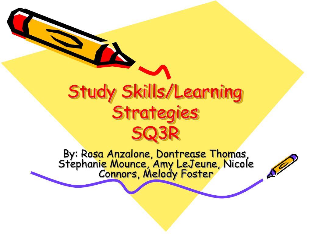 study skills learning strategies sq3r l.