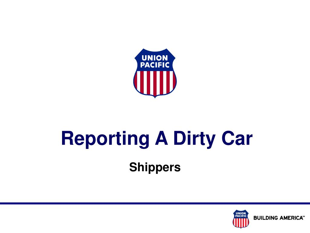 reporting a dirty car l.