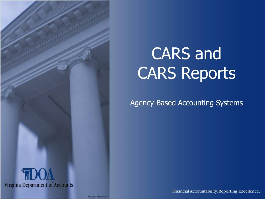 cars and cars reports agency based accounting systems l.