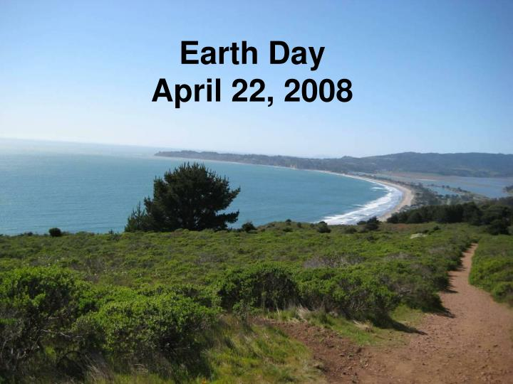 earth day april 22 2008 n.