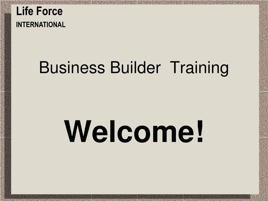 business builder training l.