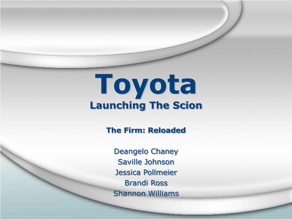 toyota launching the scion l.