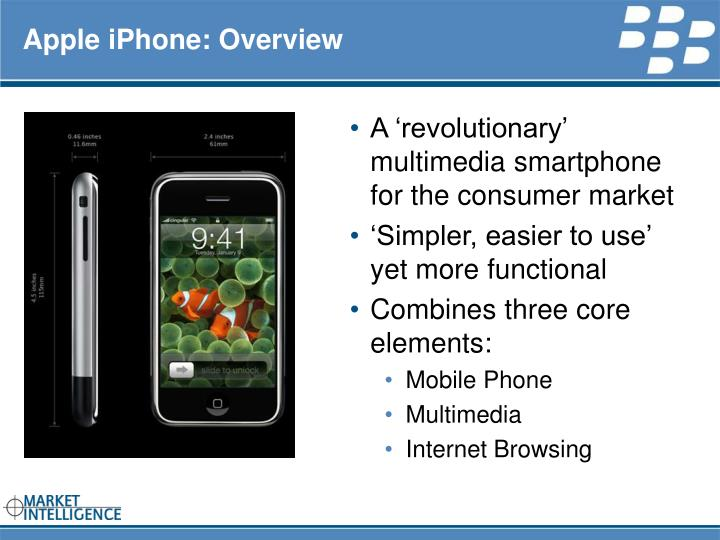 apple iphone overview n.