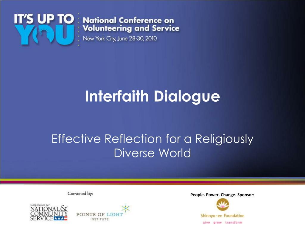 interfaith dialogue l.