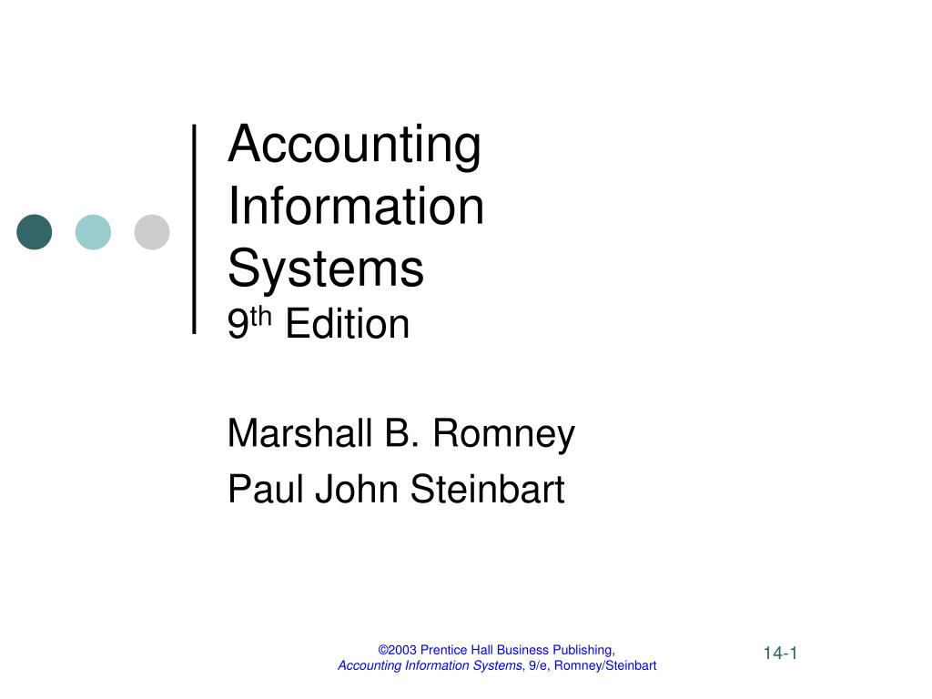 accounting information systems 9 th edition l.