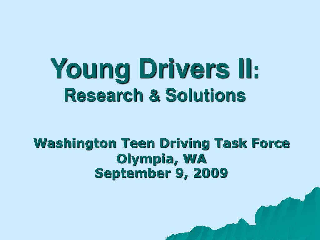 young drivers ii research solutions l.