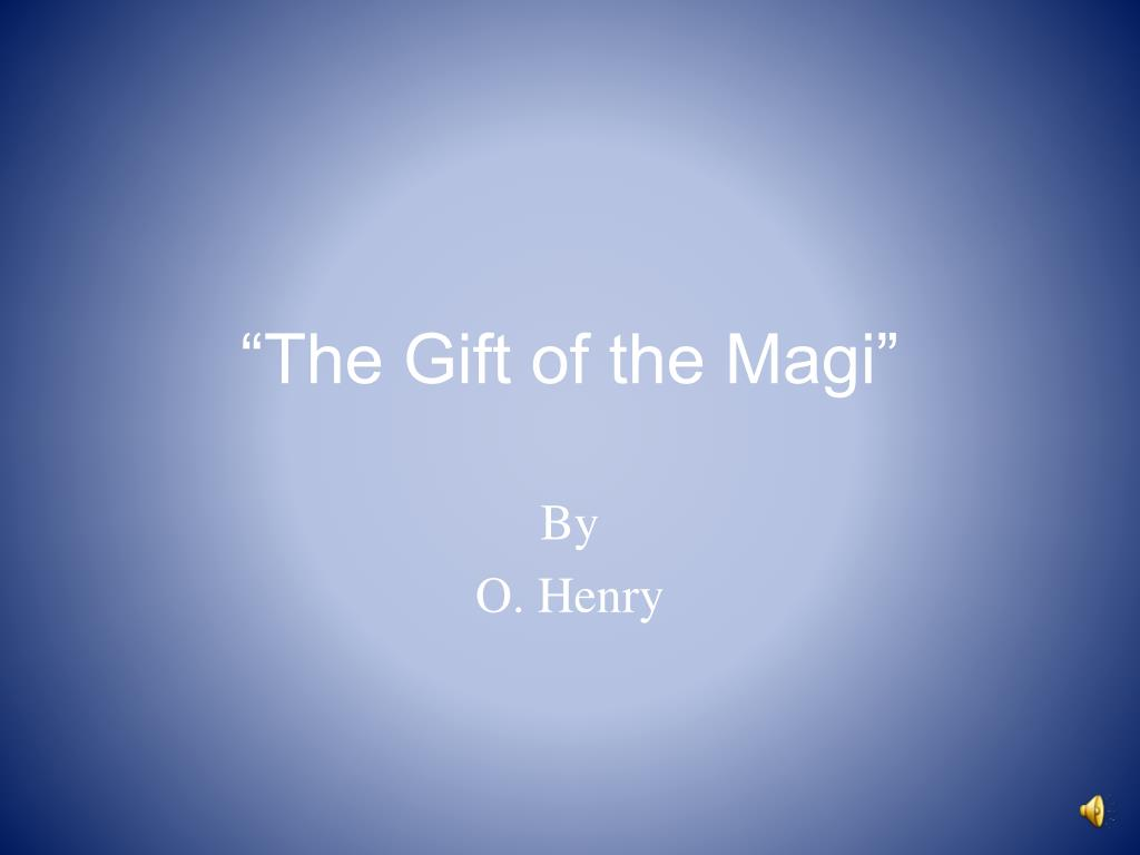 the gift of the magi l.