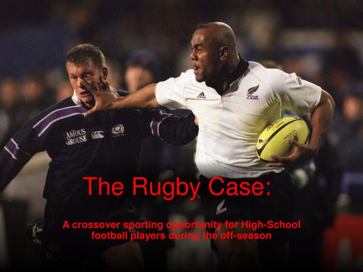 the rugby case n.