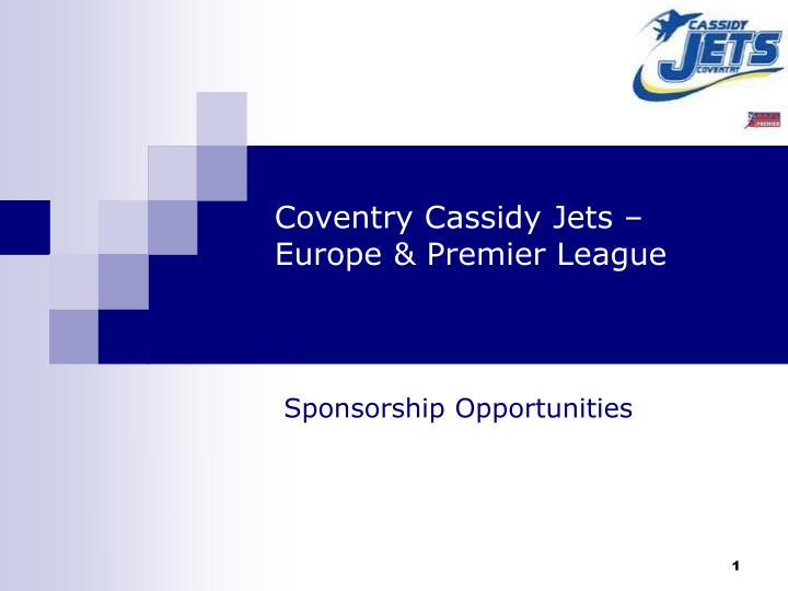 coventry cassidy jets europe premier league n.