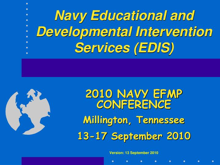 navy educational and developmental intervention services edis n.