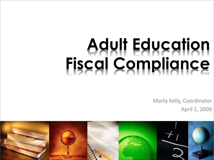 adult education fiscal compliance n.