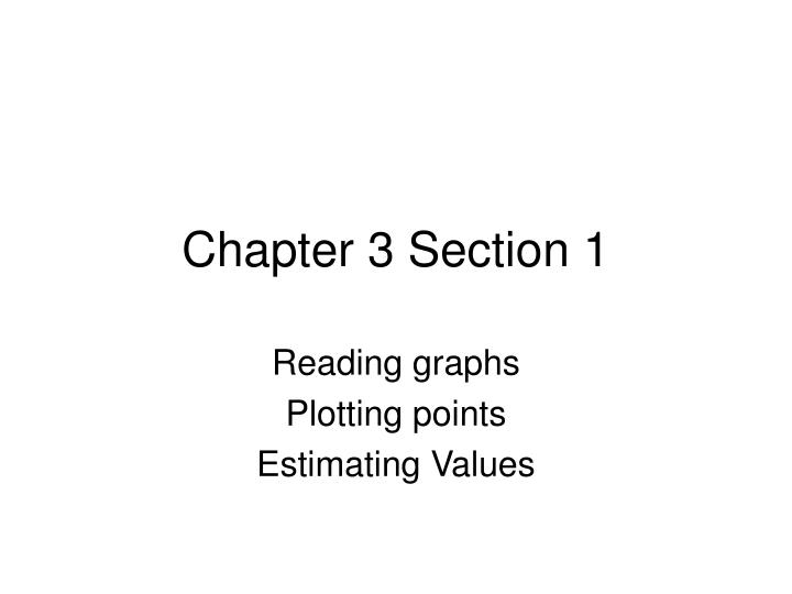 chapter 3 section 1 n.