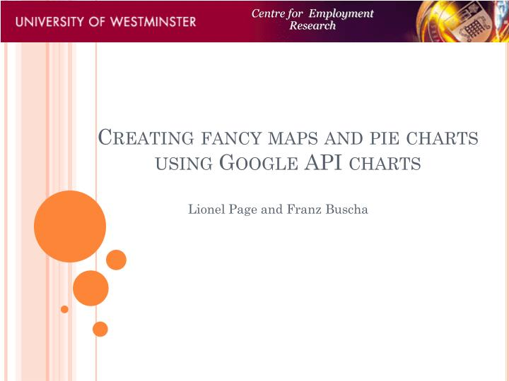 creating fancy maps and pie charts using google api charts n.