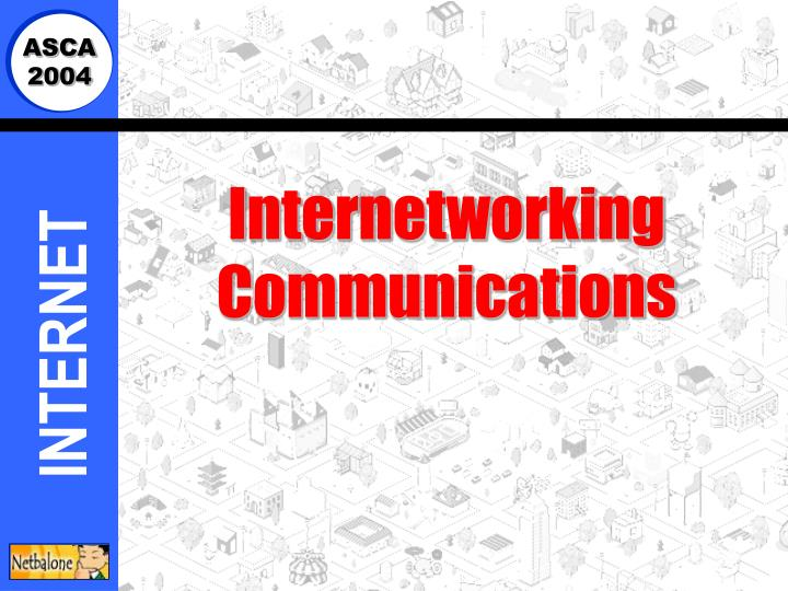internetworking communications n.