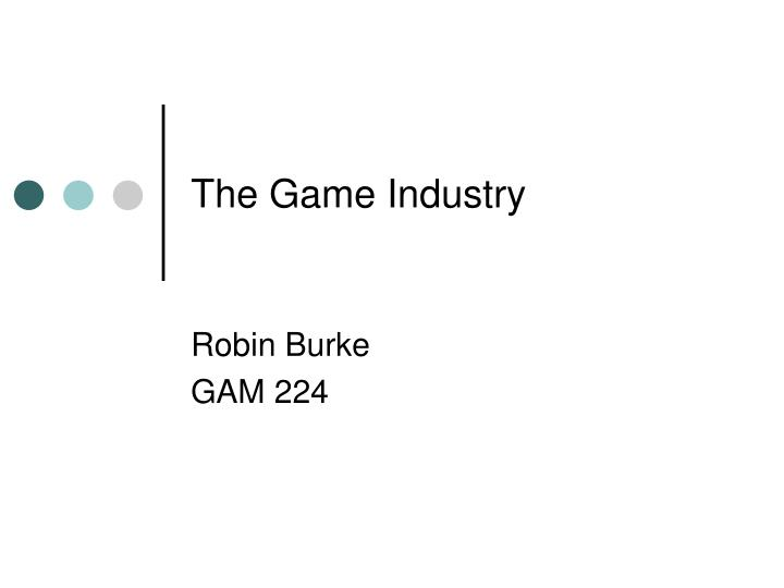 the game industry n.