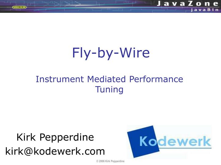 fly by wire n.