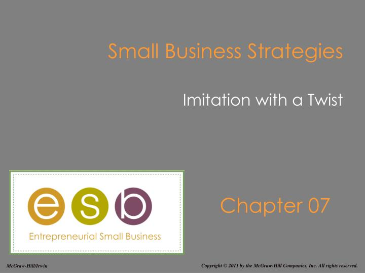 small business strategies n.