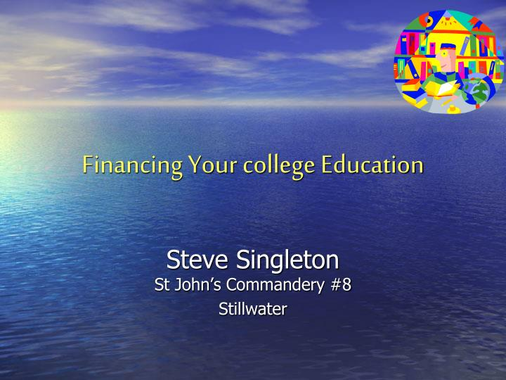 financing your college education n.