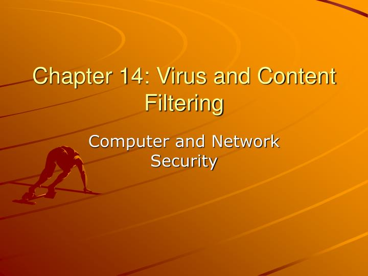 chapter 14 virus and content filtering n.