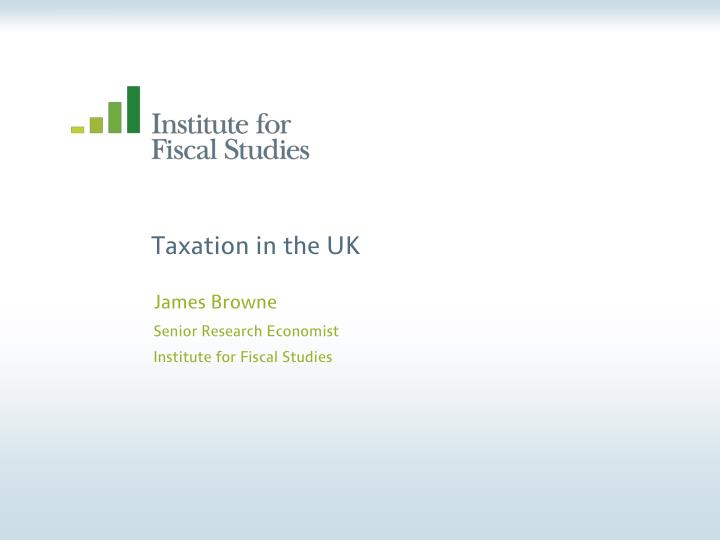 taxation in the uk n.