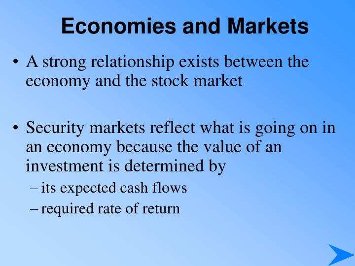 economies and markets n.