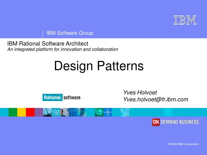 ibm rational software architect an integrated platform for innovation and collaboration n.