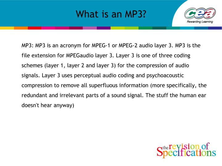 what is an mp3 n.