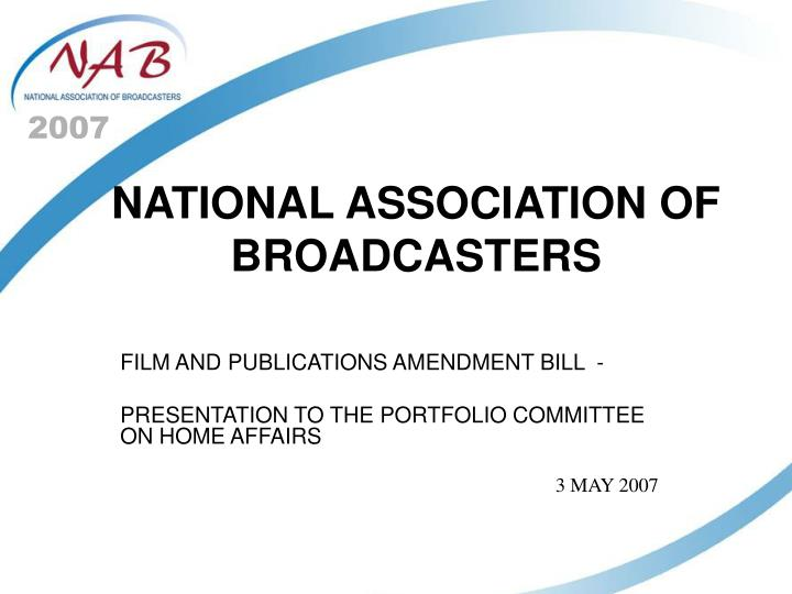 national association of broadcasters n.