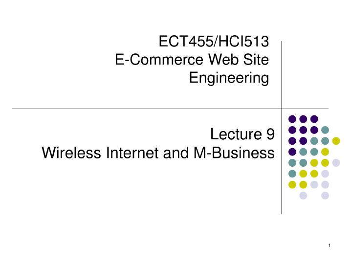 ect455 hci513 e commerce web site engineering n.