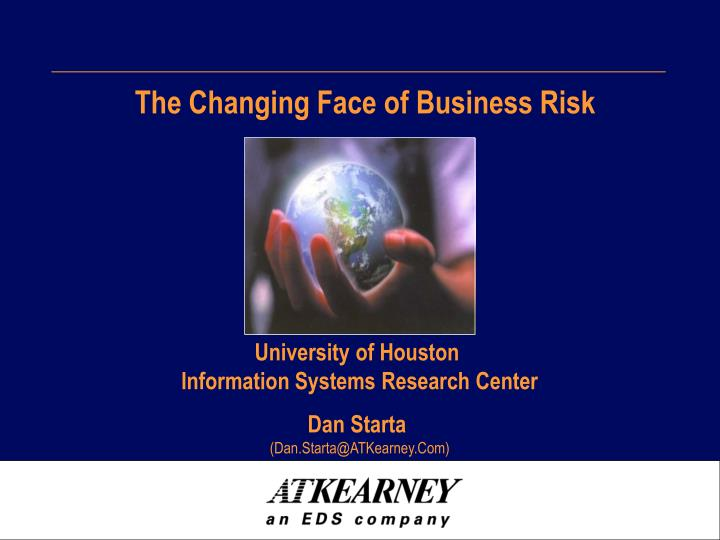 the changing face of business risk n.